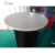 Advertising inflatable event table, inflatable bar table tube for exhibition, LED lighting bar counter desk table for event