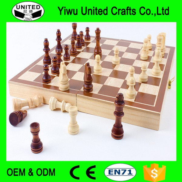 cheap new fashion international wooden game board chess