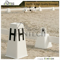 FenTECH brand four sides Dressage Arenas Letters with flower pot on the top