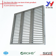 custom sheet metal fabrication metal stamping security steel mesh screen door