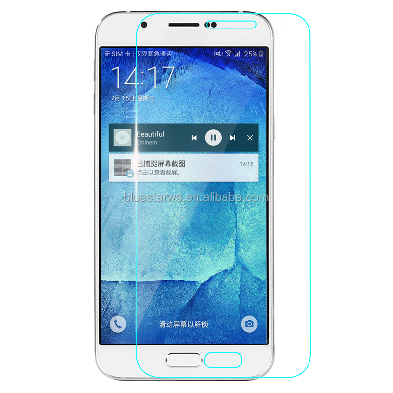 Factory price!high clear bubble free full cover tempered glass screen protector for Samsung J3 2017