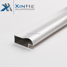 Aluminum Hardware alu extrusion profiles Modern Kitchen Accessories Aluminum Tile Trim Profile extruded For Kitchen Cabinet