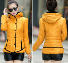 WA10019 2015 winter lady clothes short cheap women cotton coats and jackets