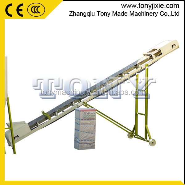 High Efficiency sawdust corn belt conveyor