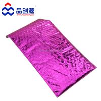 colorful aluminum foil bubble bag/metallic bubble mailers envelope