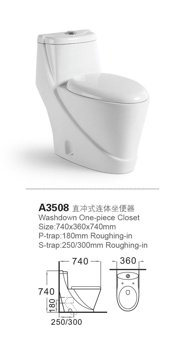 A3508 China Manufacture Sanitary Ware Malaysia All Brand