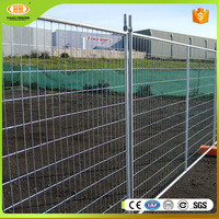 2016 hot sale construction Australia galvanized temporary fence,galvanized temporary fencing ,temporary fence.