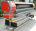 larger format solvent printer
