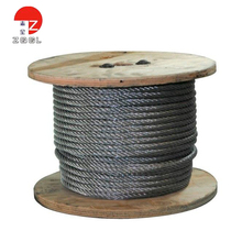 Best Sale 1x19 Galvanized Steel Wire Rope for Power Cable galvanized/stainless steel wire rope