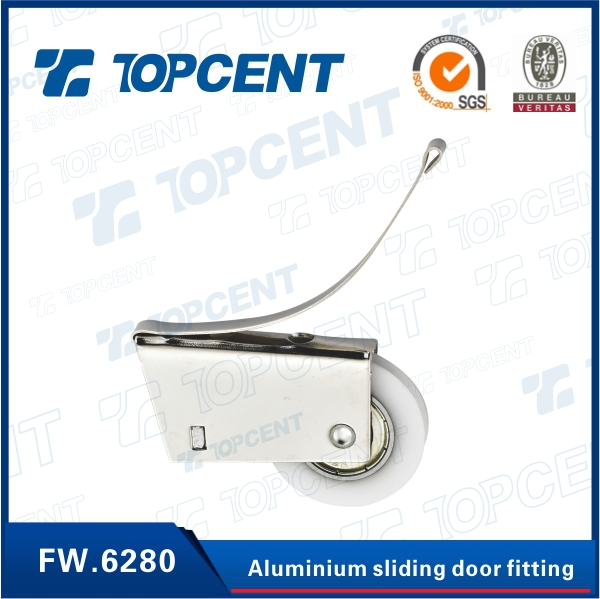 Iron and plastic heavy sliding door roller fittings sliding door roller