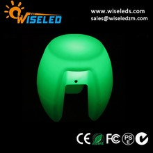 colors changing plastic led chair for event decoration