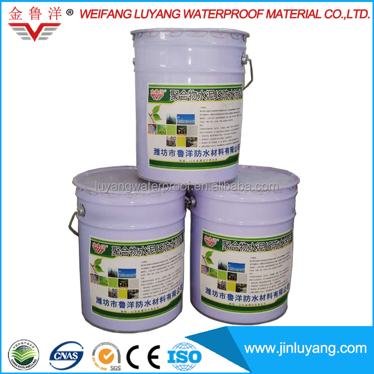 Flexible cementitious waterproofing coating