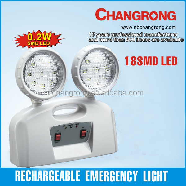 CR-7002 Two head Exit Rechargeable Emergency Light