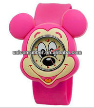 the mickey mouse silicone kids watches