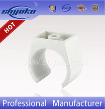 Hot-selling SHYOKO factory PVC BSPT THREAD PIPE FITTINGS, PVC Clip for water treatment upvc pipe fittings PLASTIC PIPE FITTINGS