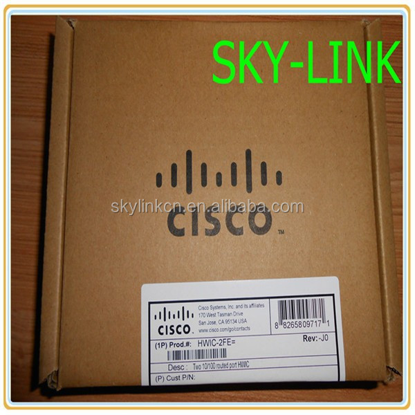 Cisco HWIC 2 Port Router High-Speed WAN Interface Card HWIC-2FE