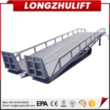 Factory selling hydraulic adjustable loading dock ramp for forklift loading container