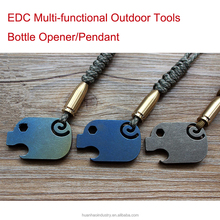 TC4 Titanium PIG EDC Tool Card Opener Key Chain Pendant Hanging Buckle EDC Multi Tools