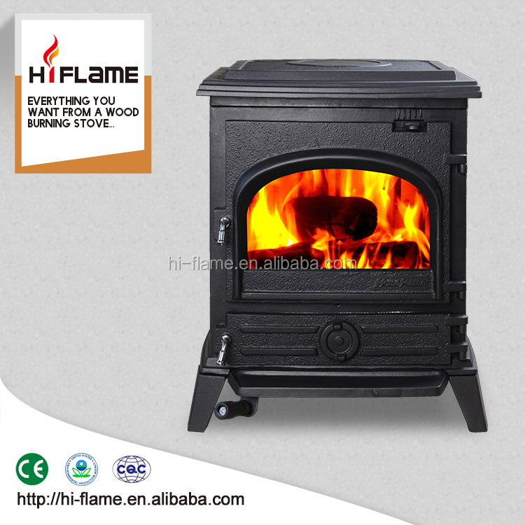 Cast iron fireplace indoor wood stove for wholesale HF517U