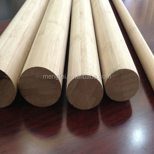 carbonized color bamboo poles
