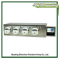 multichannel peristaltic pump peristaltic pump head