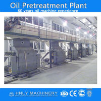 Vegetable oil extraction plant for peanut, soya bean, rapeseed, sunflower seeds