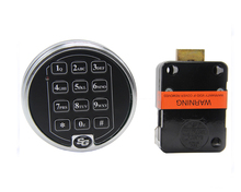 Smart lock European Standards Trustworthy Keyless Entry Electronic Keypad Lock SG6124 for safe box/ vault/ bank