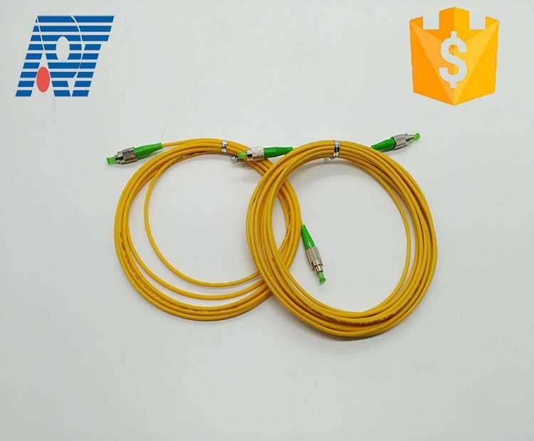 Singlemode simplex / duplex optical patchcords 3m FC SC - UPC / APC fiber optic patchcord for home network