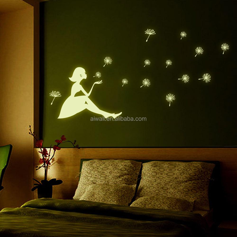 Y0031 autoadesivi della parete del fumetto adesivi murali luminose ...