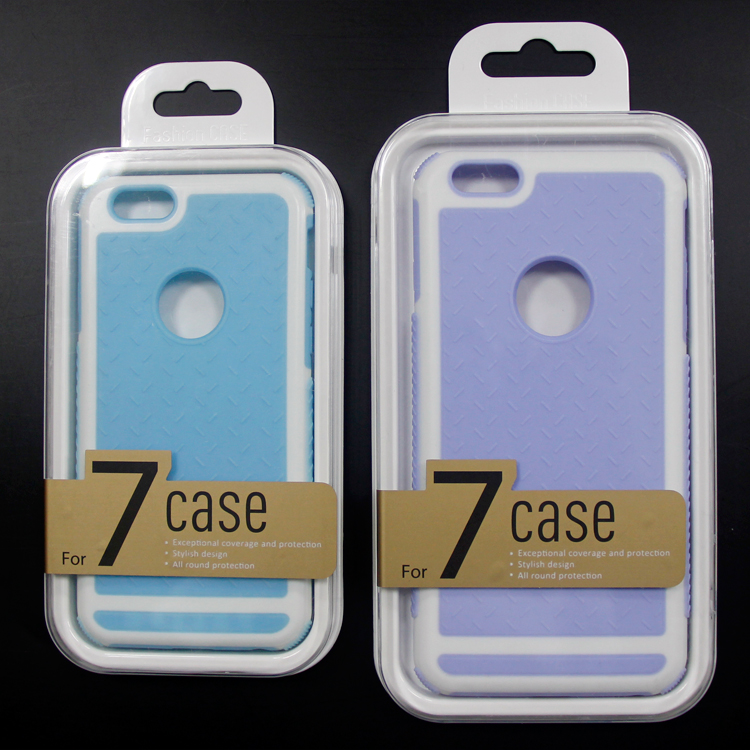 Guangdong Packing Box High Quality Crystal Plastic Phone Case Packaging Box for iPhone 7