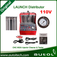CNC602A ultrasonic fuel injector cleaner & tester auto testing for petrol cars 100% original quality by Launch company