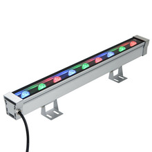 3Years Warranty Linear Light With RF Remote Controller 9w RGB LED Wall Washer Outdoor