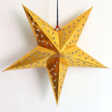 HOT 3D hanging laser paper star lantern Lampshade Birthday/party/wedding/christmas/ decoration elegant