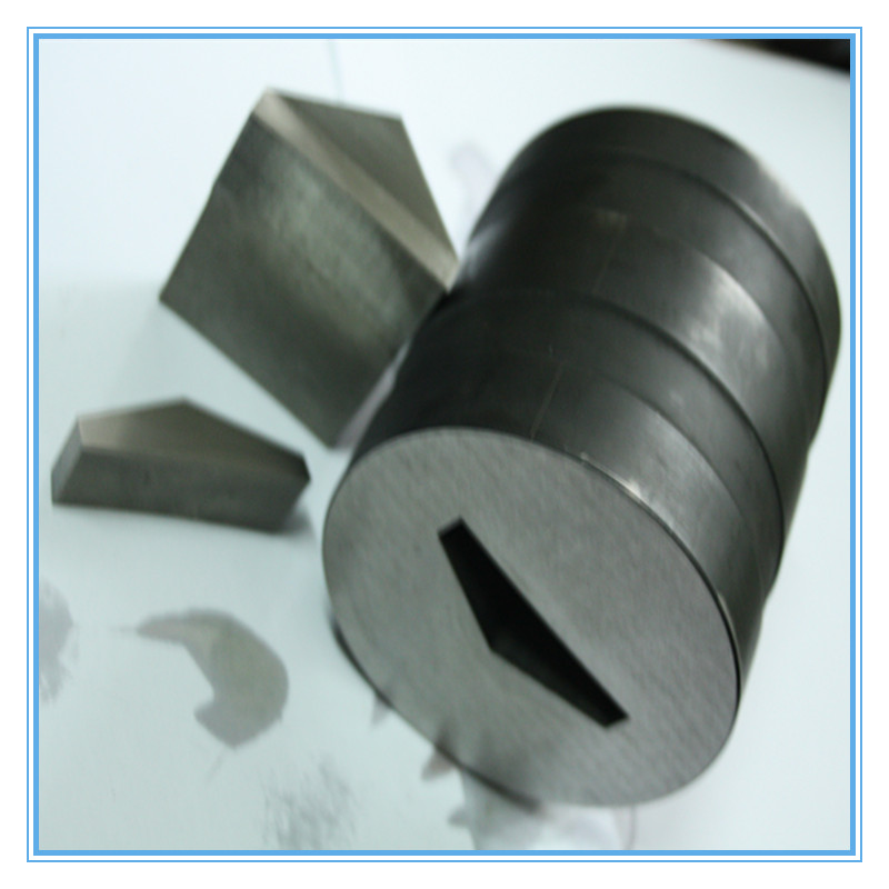 Scraper Cutter Steel Die / Tungsten Carbide Mold / Round Shape Superior Die