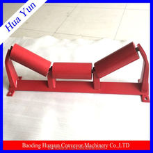 89mm Dia Dustproof Metal Carrying Idler Transition Conveyor Roller Idler for Conveyor Machinery Parts