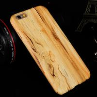 shock-absorbing back cover armr case for iphone 5/5s wood grain case