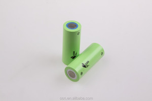 Cylinder 26650 LiFePo4 lithium ion battery 3.2v 2500mah rechargeable cell for solar street lights