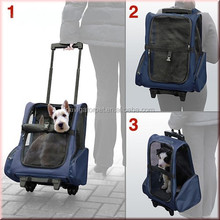 Pet Trolley Bag with Wheels