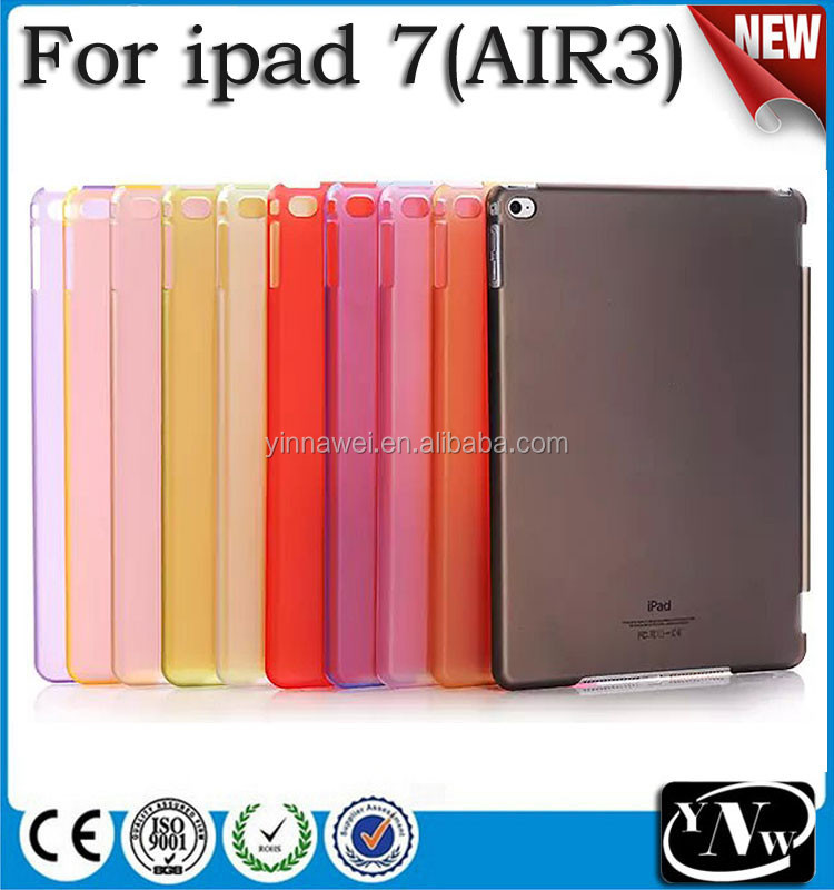Semi-Transparent Buy Bulk From China Protective Smart Cover Companion Case for iPad air 3 for iPad 7