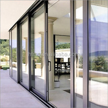 professional powder coated bullet proof aluminum security sliding door to room price