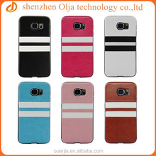 Classic doule lines tpu cases for samsung galaxy s6 edge, hot selling tpu cases for s6 edge