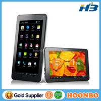 7 inch Tablet pc via 8880 dual core six colors cheapest android pc via 8880 tablet pc
