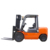 New Design 3T Capacity Electric Counterbalance Forklift Truck