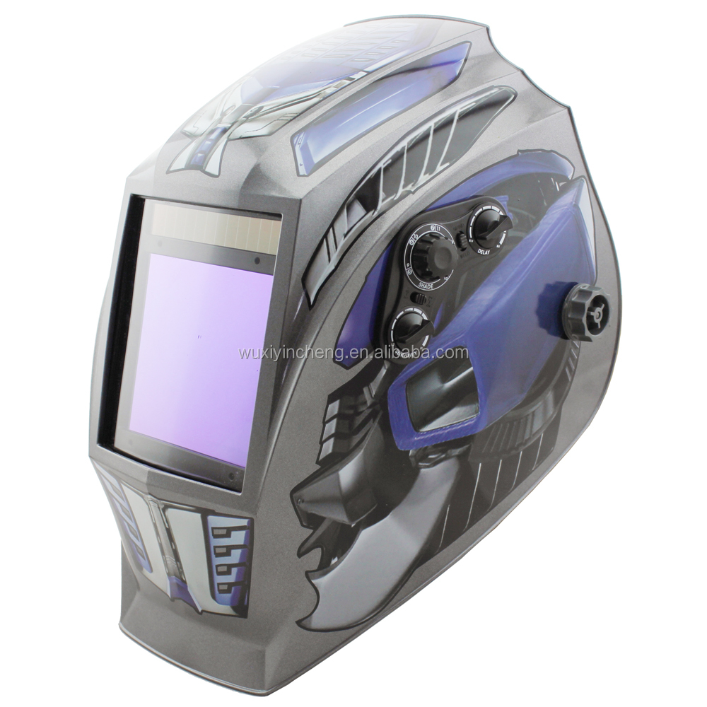 PA solar powered automatic welding mask
