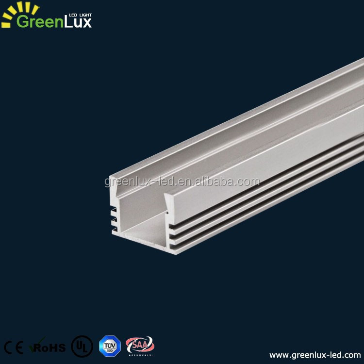 6000 series LED Aluminum profile extrusion housing channel for led strip flexible light