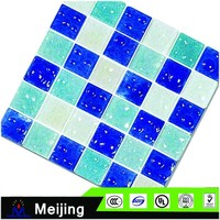 European style mirror surface swimming pool border tile for modular home bathroom accessories
