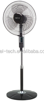 16 Inch Electric Stand Fan with Round Base