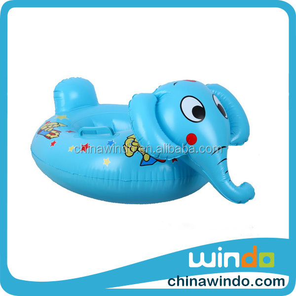 swimming pool inflatable elephant baby floats bath seat