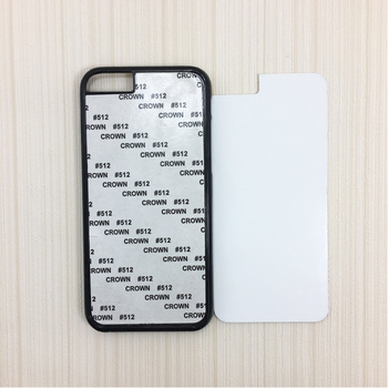 Wholesale customed 2D sublimation blank plastic phone cases for Iphone 6/6s