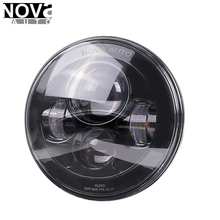 DOT SAE Approved 7 Inch Round LED Vehicle Lights LED Headlight For Jeep Motorcycle